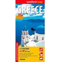 Grecja laminowana mapa samochodowo- turystyczna 1:750 000