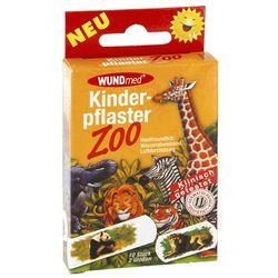 Zoo plaster dla dzieci w dwóch wielkościach 10 szt.