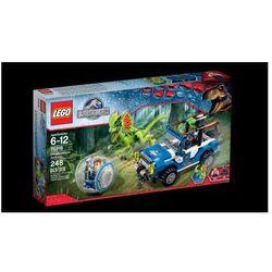 LEGO Park Jurajski Zasadzka Dilofozaura 75916