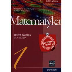 Matematyka 1 zeszyt ćwiczeń (opr. miękka)