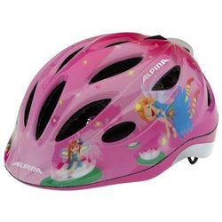 ALPINA Gamma Flash 2.0 - Kask rowerowy dziecięcy, 51-56cm - Little Princess (51-56cm)