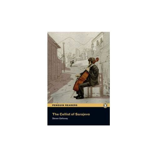 The Cellist of Sarajevo + CD. Penguin Readers (opr. miękka)
