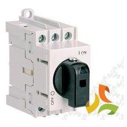 Rozłącznik z pokrętłem bezpośrednim LAS 40 3P 004660014 ETI