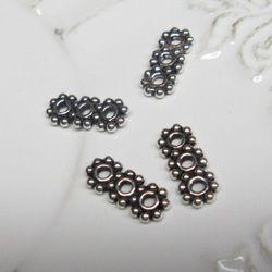 Srebro Ag oksyda - element ozdobny 13x5mm