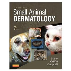 Muller and Kirk's Small Animal Dermatology (opr. twarda)