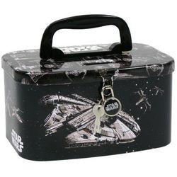 Skarbonka kuferek z kłódką Star Wars 14