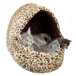 Domek Leo- przytulne legowisko dla kota lub psa