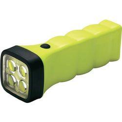 Latarka kieszonkowa na baterieFour LED EX, AccuLux, LED, żółta