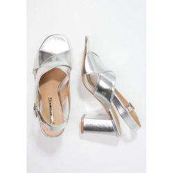 SUITEBLANCO Sandały silver