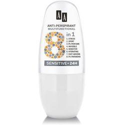 AA Anti-Perspirant Multifunctional 8in1 Dezodorant roll-on Sensitive 24H 50ml