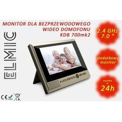Monitor dodatkowy do wideo domofonu z funkcją dzwonka z czujnikiem ruchu ELMIC KIVOS KDB700mk2