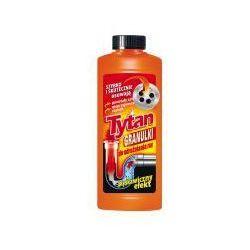 Granulki do udrażniania rur i syfonów Tytan 500 g