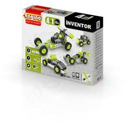 Engino, Inventor, Samochody 4w1, klocki konstrukcyjne Darmowa dostawa do sklepów SMYK