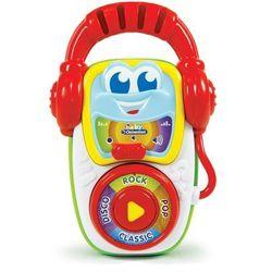 Clementoni, zestaw dla małego Dj-a, zabawka interaktywna Darmowa dostawa do sklepów SMYK
