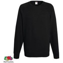Fruit of the Loom Czarna męska bluza ze ściągaczem wokół szyi rozmiar XL Darmowa wysyłka i zwroty