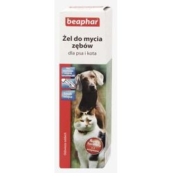 Beaphar Żel do mycia zębów dla psa i kota 100g