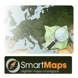 Mapa Kolarstwo Europy-od 1:40 000 SmartMaps dla systemu Android, Windows, Blackberry, Symbian