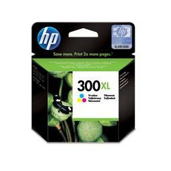 Orygina Tusz HP 300XL do Deskjet D1660/2560/2660/5560, F2480/4280 | 440 str. | CMY