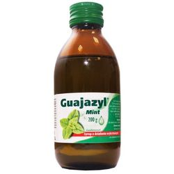 Guajazyl mint syrop 125mg/5ml 200 g (160 ml)