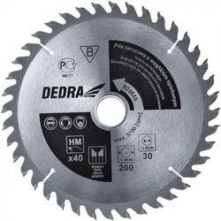 Tarcza do cięcia DEDRA H14024D 140 x 12.75 mm do drewna