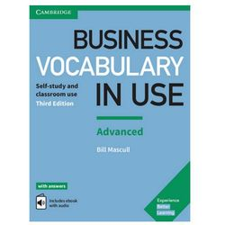 Business Vocabulary in Use: Advanced Third Edition - Wortschatzbuch + Lösungen + eBook