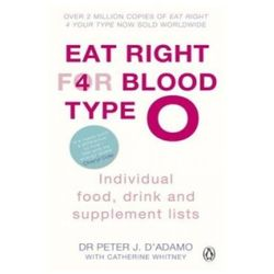 Eat Right for Blood Type O Individual Food, Drink and Supplement Lists