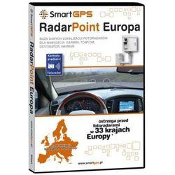Oprogramowanie GPS SMARTGPS Radar Point Europa