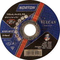 Tarcza szlifierki kątowej do stali, 125mm Norton
