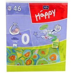 BELLA BABY HAPPY pieluchy 0 Before Newborn 46szt pieluszki