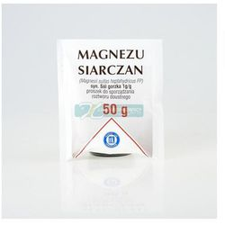 Magnezu siarczan (sól gorzka) 50 g