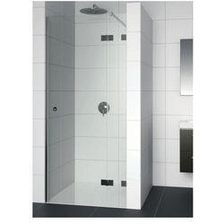 RIHO ARTIC A104 Drzwi prysznicowe 90x200 LEWE, szkło transparentne EasyClean GA0050201