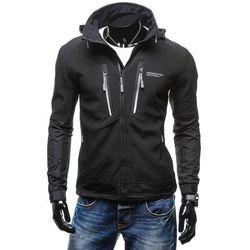 Czarna kurtka męska przejściowa Denley 2340 Kurtki i Płaszcze 119.99 (-20%)