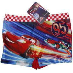 Cars Auta kąpielówki dla chłopca Disney. Czerwony