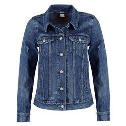 Levi's® BOYFRIEND TRUCKER Kurtka jeansowa blue woodstock