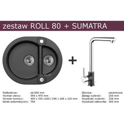 Zestaw ALVEUS ROLL 80 + SUMATRA (kolor CZARNY)