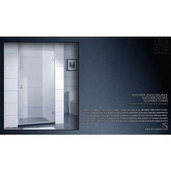 DRZWI PRYSZNICOWE AXISS GLASS AN6211H 800mm