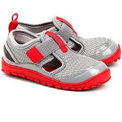 REEBOK Ventureflex - Szare Nylonowe Sandały Dziecięce - M48996