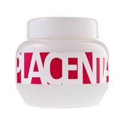 KALLOS Placenta maska z ekstraktem z roślin do włosów suchych i łamliwych 800ml