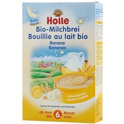 HOLLE 250g Kaszka mleczno-bananowa BIO dla niemowląt od 6 miesiąca życ