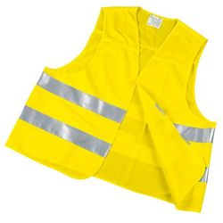 Kamizelka ostrzegawcza High Visibility Bottari, uniwersalny żółty