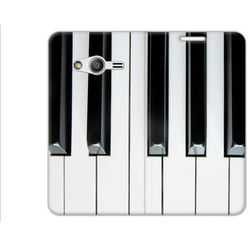 Flex Book Fantastic - Samsung Galaxy Trend 2 Lite - pokrowiec na telefon - pianino