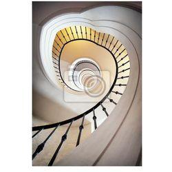 Obraz spiralne schody