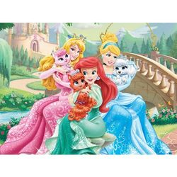 22-005241A Puzzle Księżniczki z pieskami - PUZZLE DLA DZIECI