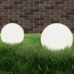 vidaXL Lampa ogrodowa w kształcie kuli E27 40 cm Darmowa wysyłka i zwroty