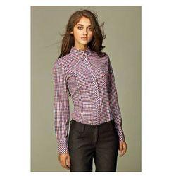 Elegancka koszula w kratkę K37