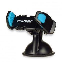 Uchwyt samochodowy SKINK SDH2B, czarno-niebieski Odbiór osobisty w ponad 40 miastach lub kurier 24h