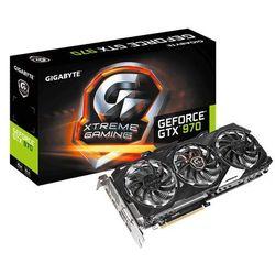 Karta graficzna Gigabyte GeForce GTX970 XTREME 4GB DDR5 (256Bit) DVI/3xDP/HDMI BOX (GV-N970XTREME-4GD) Darmowy odbiór w 19 miastach!