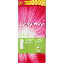 Carefree Aloe Wkładki higieniczne z wyciągiem z aloesu 1 op.-20szt