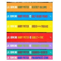 Harry Potter Boxed Set: The Complete Collection (Adult Paperback) Rowling, Joanne K. (opr. kartonowa)