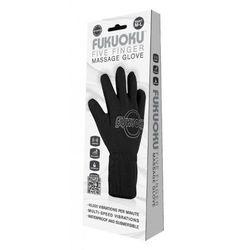 Fukuoku - rękawiczka do masażu M/L (prawa czarna)